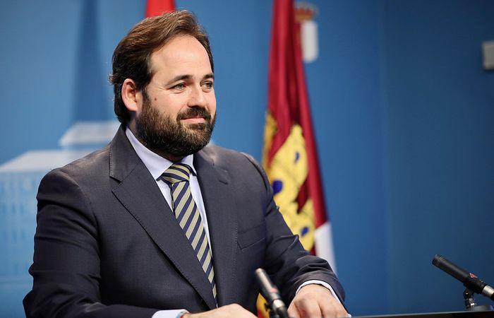 Paco Núñez, presidente del PP de Castilla-La mancha.