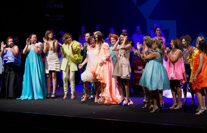 Desfile de Lola Muñoz en la segunda Jornada de la VI AB Fashion en su edición de 2019. Foto: Manuel Lozano García / La Cerca