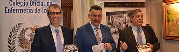 José Miguel Álvarez Moya, Roberto Martín y Carlos Álvarez.