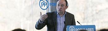 Pedro Sanz, presidente del Partido Popular de La Rioja