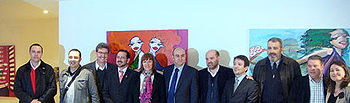 Ángeles García inauguró ayer el nuevo Centro Cultural Polivalente de La Solana
