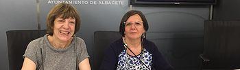 Teresa Márquez y Victoria Delicado.