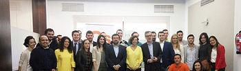 Js de C-LM mantienen una reunión con José Manuel Villegas y Miguel Gutiérrez