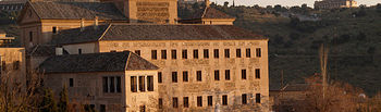 Convento de San Gil, sede de las Cortes Regionales, en Toledo.