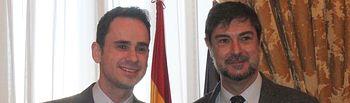 El alcalde recogió en la Biblioteca Nacional el Premio María Moliner, concedido a la Biblioteca de Cabanillas del Campo, en un acto presidido por el ministro de Cultura