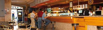 Cafetería del Hotel Europa.
