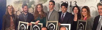Cospedal en los Premios Solidarios 'Jóvenes 2013 DO La Mancha'. Foto: JCCM.
