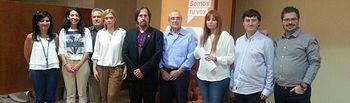 Junta Directiva del partido Ciudadanos en Albacete.