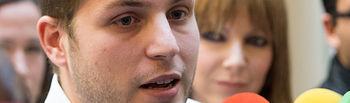 Nacho Hernando, portavoz del Gobierno Regional y secretario general de Juventudes Socialistas de Castilla-La Mancha.