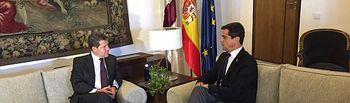 Javier Cuenca y Emiliano García-Page.