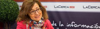 Carmen Córcoles, candidata al Decanato de la Facultad de Ciencias Económicas y Empresariales de la UCLM.