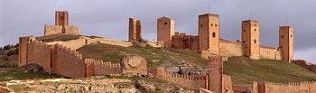 Castillo de Molina de Aragón.