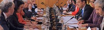 El ministro de Justicia, Rafael Catalá, preside la quinta reunión de la Comisión Justicia Digital (Foto: Ministerio de Justicia)