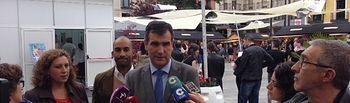 Antonio Román inaugura la Feria del Libro