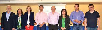Candidatos a la alcaldía de Albacete en el debate organizado por la FAVA - 20-05-15.
