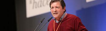 Javier Fernández en la Conferencia Autonómica.