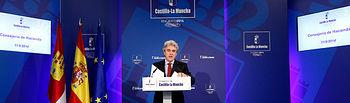 Leandro Esteban rueda de prensa Consejo de Gobierno, 11-09-14 (3). Foto: JCCM.