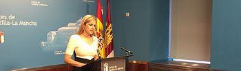 """Elena de la Cruz espera que el Gobierno de España """"recapacite"""" y desista de instalar el ATC en Castilla-La Mancha. Foto: JCCM."""