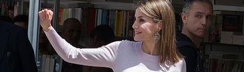 Reina Leticia - Inauguración Feria Libro de Madrid 2016. Foto: Europa Press.