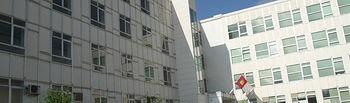 Exterior de la Escuela de Ingeniería Minera e Industrial de Almadén.