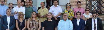 PP participa minuto silencio Cortes CLM por atentado Barcelona.