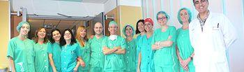 Equipo quirúrgico Servicio de Oftalmología. Cirugía combinada. Foto: JCCM.