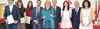 Premios extraordinario de grado y máster del curso 2014-2015.