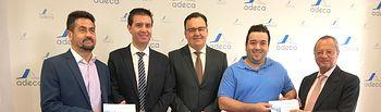 ADECA y Diputación de Albacete entregan las Becas a la Exportación para que las empresas de Campollano vendan con éxito fuera de nuestras fronteras.