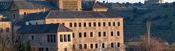 Convento de San Gil, sede actual de las Cortes de Castilla-La Mancha.