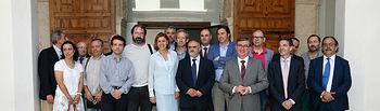 Cospedal se reúne con directores de escuelas de Arte de CLM. Foto: JCCM.