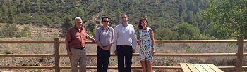 Moreno-Manzanaro en Las Chorreras. Foto: JCCM.