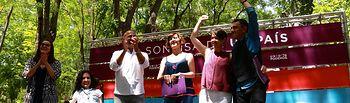 Encuentro organizado por Unidos Podemos en Albacete en el que han participado Juan Carlos Monedero, Ramón Espinar, José García Molina, Teresa Arévalo, Carmen Fajardo y Virginia Felipe.
