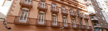 Fachada del Hotel Europa de Albacete.
