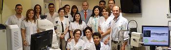 El servicio de Oftalmología del Mancha Centro, premio nacional por la realización del primer trasplante de una de las capas de la córnea. Foto: JCCM.