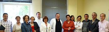 En la imagen, los miembros del Comité de Ética Asistencial de la Gerencia de Área Integrada de Puertollano constituido recientemente.