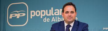 Francisco Núñez, presidente del PP de Albacete