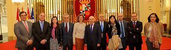 La presidenta Cospedal inaugura las Jornadas de Letrados de las Comunidades Autónomas. Foto: JCCM.