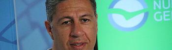 El presidente del PP de Cataluña, Xavi Garcia Albiol