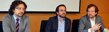 De izquierda a derecha: Raúl Letelier, Luis Medina y Luis Arroyo Jiménez.