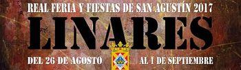 Cartel Feria de San Agustín, de Linares (Jaén).
