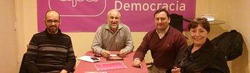 UPyD Albacete recoge las demandas de las empresas del polígono de Romica