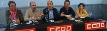 Carlos Bravo durante la asamblea celebrada en Albacete