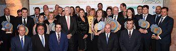 Cospedal asiste a la entrega de los Premios CEOE CEPYME Guadalajara