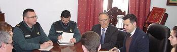 El subdelegado del Gobierno en Albacete preside la Junta Local de Seguridad de Tarazona de la Mancha