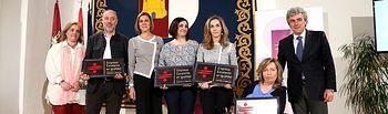 Cospedal entrega los distintivos de excelencia en igualdad, conciliación y responsabilidad social empresarial 1. Foto: JCCM.