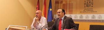 El delegado del Gobierno en Castilla-La Mancha, José Julián Gregorio, ha intervenido este martes en la presentación de las VIII Jornadas Medievales de Corral de Almaguer