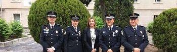 Galardonados cinco polic