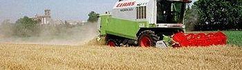Maquinaria para el cultivo del campo. (Foto archivo)