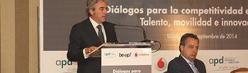 Leandro Esteban participa en la Jornada Diálogos para la competitividad empresarial-3. Foto: JCCM.