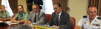 Gregorio se reúne con los presidentes de los Colegios de Médicos y Enfermería de Castilla-La Mancha para coordinar el protocolo de actuación policial ante agresiones a sanitarios
